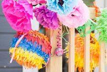 Fiesta mexicana / Mexican party / Creativas ideas para tu fiesta mexicana / Creative ideas for your mexican party / by FIESTAFACIL