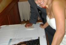 """CUSTOMER LOVE.  Wedding Guest Book Puzzles and Event Puzzles / Unique Wedding and Event Guest Books.  Photos into puzzle.  We absolutely make every single puzzle as if it is for our own family, frequently and often have wonderful conversations with our customers and always love when they show us the puzzle """"In Action"""".  Thank you to all of our amazing customers..."""