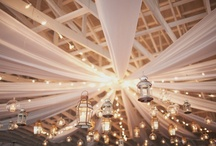 Decorar techos / Decorate ceilings / Ideas para decorar el techo de tu evento, sea de tu salón, de una terraza, de una carpa o de un hall muy grande / decoración ideas for the ceiling of your event space, be it your living room, the porch, a tent or an enormous hall / by FIESTAFACIL
