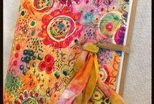 Art journals/Journals/Smash Books/Daybooks / by Tammy Wilkinson Ondarko