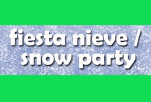 Fiesta nieve / Snow party / Ideas y sugerencias para una fiesta nieve / Ideas and suggestions for a snow party