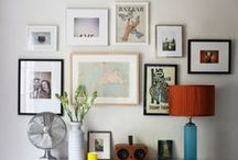 wallflowers. / gallery walls and general wall decor.