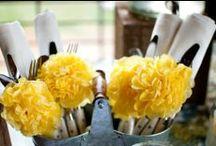 Fiesta amarilla / Yellow party / by FIESTAFACIL