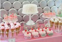 Fiesta helado / Icecream party / Ideas para una fiesta helado, ¡muy dulce y refrescante! Ideas for a sweet and refreshing icecream party! / by FIESTAFACIL