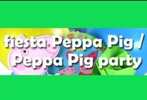 Fiesta Peppa Pig / Peppa Pig party / Divertidas ideas para una fiesta Peppa Pig / Fun ideas for a Peppa Pig party / by FIESTAFACIL