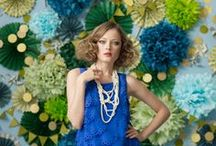 Fiesta azul y verde / Blue and green party / by FIESTAFACIL