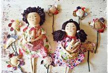 Kyoko ♡ My First Primitive Doll / Muñecos primitive by Kyoko. Todo handmade con liencillo envejecido. www.tiendakyoko.com.ar #muñecos #handmade #myfirstprimitivedoll #kyoko  / by Tienda Kyoko