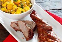 Pork, Turkey and Lamb