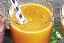 Healthy Juices + Smoothies / Juicing and smoothies give you the nutrition you need to feel your best. Perfect for mornings or lunch, these smoothies and juices will hit the spot.
