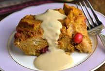 Pumpkin Recipes / Nothing is better than pumpkin flavors during the Fall. These pumpkin recipes will get you the seasonal mood.