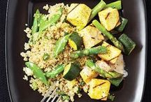 Quinoa Recipes / Quinoa is a great grain to help you stay on track with your clean eating diet. Find unique ways to add quinoa into your recipes.