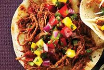 Tasty Taco Recipes / Tacos are great for clean eating because you can load in a lot of vegetables and nutrients. Plus, the whole family loves them!