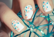 .e's nails. / by Katie Burley