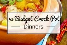 Budget Menu Plans / Save time and money in the kitchen with these delicious budget menu plans! Each one will help you save money, save time and feed your family delicious meals!