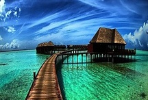 Two✖ Three✓ Tickets To Paradise. / Places that I would love to visit, 'cause they look exquisite!