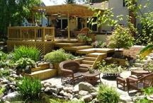 Decks, Porches & Outdoor Spaces / by Diana Brown-Meyer