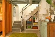 Basement clean-up / Dan's domain will still remain, just a new look and a little more room for fun! / by Margaret McGraw