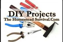 DIY Home and Homestead Projects / Do it yourself (DIY) is the method of building, modifying, or repairing something without the aid of experts or professionals. It helps you to build skills, self sufficiency and saves money. Many homesteaders ( homesteading ) find this a necessary to become self sufficient.   / by The Homestead Survival