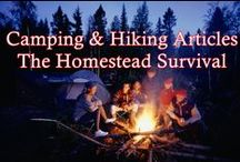 Camping & Hiking - The Homestead Survival / Camping & Hiking  / by The Homestead Survival