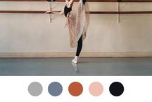2014 S/S Color Story Exploration _ my base colors / Zeroing on the core wardrobe neutrals/colors... A selection...