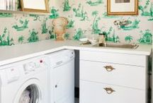 Interiors: Laundry Rooms