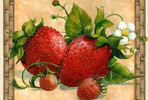 All Things Strawberry / Anything and Everything With Strawberries / by Debbie Trotto
