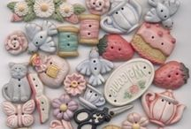 Button Up / Beautiful Buttons and Button Crafts / by Debbie Trotto