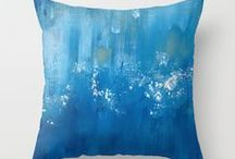 Home Decor and Textiles by Artists / Fine art on home decor and textiles