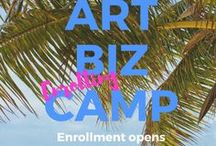 Workshops & Courses:: artists, authors, speakers / art business workshops, tutorials, how to, creativity, art biz camp