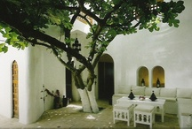 Mediterranean Inspirations / Minimal, blue, white, south of Italy, Apulia, Greece, decor, Africa, Morocco, seaside, olive trees, home, design.