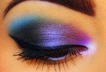 M A K E U P / I love being BOLD with my eye makeup :P lol / by ♔Mrs. Bice♔