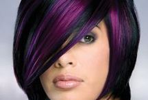 H A I R♥  / Hair Color, Styles & Cuts :-) I LUV BURGANDY & RED HAIR <3 / by 👑Manda🎀Marie👑
