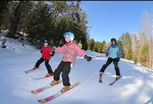 Winter Adventure / During the Winter months, New Hampshire is known for alpine skiing, cross country skiing, snowshoeing and so much more. Let Purity Spring Resort and our own King Pine Ski Area show you the fun you can have when the snow flies!