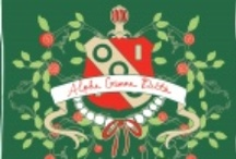 ⊱ alpha gamma delta ⊰ / For the letters that I love so much / by Hannah Becton
