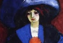 Kees van Dongen / Kees van Dongen (1877-1968) Dutch-born French painter and printmaker who was one of the leading Fauvists particularly renowned for his stylized, sensuously rendered portraits of women.  / by Amy Hampton