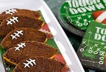 Tailgating & Sports Parties / Whether you are tailgating outdoors or hosting the game at home, here are some great ideas whether it is football, basketball, baseball, or soccer.  It could be the Super Bowl, college, or a high school game. / by Dawn Rodak