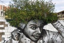 Wall Magic - Murals and Street Art / turning noting into art