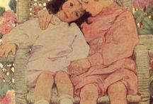 Jessie Wilcox Smith/Red Rose Girls