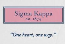 GREΣK / Sigma Kappas do it best! One ❤️ One -->