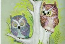 Too Cute Owls / by Tina