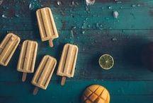 eat | frozen / Vegan ice cream recipes and vegan popsicle recipes!