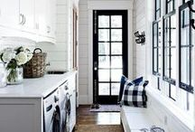 HOME: Laundry & Mud Rooms