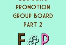 **Blogging Promotion - Part 2!** / This is a Blogging Promotion Board.... post your pins to drive traffic to your board! No strict rules - just no spam or junk. I do ask that you follow me... and I'll do the same for you! Thanks!