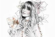 Fashion and Couture Sketches / by Kimberley Roberts