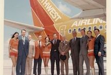 Vintage Southwest Travel / A look back at over forty-five years of travel with Southwest Airlines!  Vintage aviation photos, uniforms, promos and posters from the 70s, 80s and 90s.