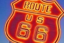 Oklahoma Route 66 / Get your kicks on more than 400 miles of Route 66 in Oklahoma. The nation's longest driveable stretch of Route 66 cuts through Oklahoma, making its way past charming towns, roadside diners and quirky attractions. / by TravelOK.com