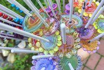 beads... / a bit of glass spun on a mandrel #beeboo