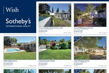 Sotheby's Realty LA Times Ads / A showcase of my original designs for Sotheby's International Realty affiliates, printed weekly in the Los Angeles Times.