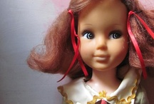 Vintage dolls and toys