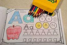 Literacy -- Alphabet